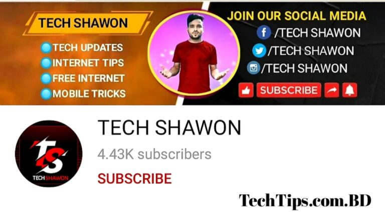 TECH SHAWON YOUTUBE CHANNEL ALL APPS LINK & MATERIAL